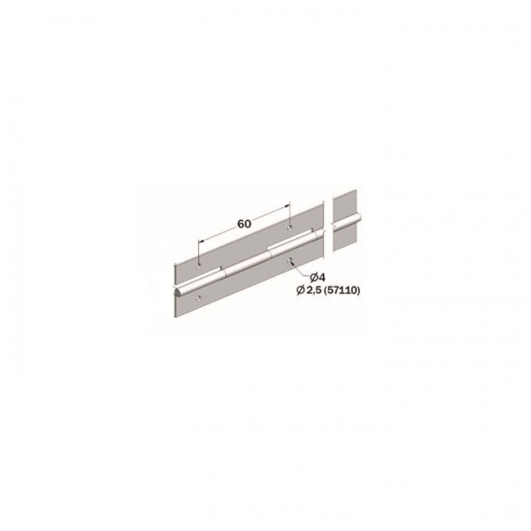 DOBRADIÇA PIANO INOX 2.0
