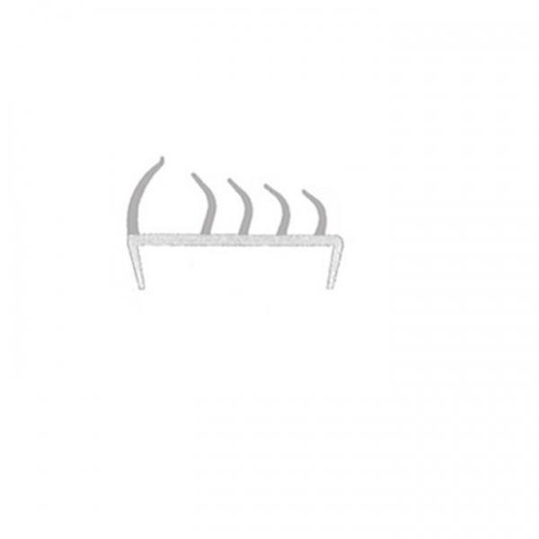TIRAS PVC REF. 245 - 65MM COM 5MTS (CINZA)